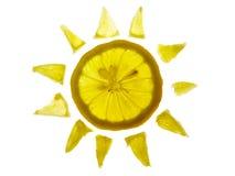 солнце лимона Стоковые Изображения RF
