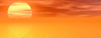 солнце лотка Стоковое фото RF