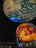солнце луны Стоковые Фотографии RF