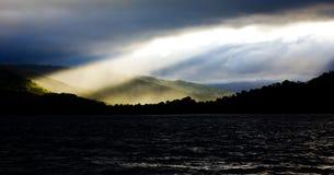 солнце луча Стоковая Фотография