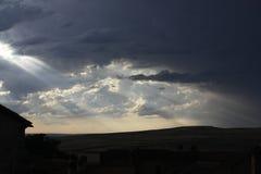 солнце луча Стоковые Изображения