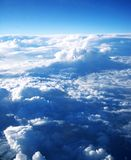 солнце лучей облаков Стоковые Фото