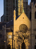 солнце лучей собора последнее Стоковое фото RF