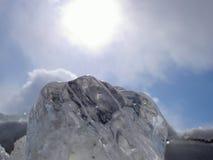 солнце льда Стоковая Фотография