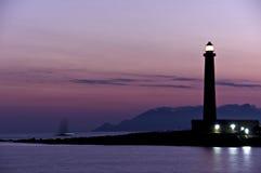 солнце маяка Стоковые Фото