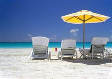 солнце моря песка Стоковое фото RF