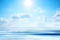 солнце моря Стоковые Изображения RF