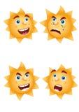 солнце настроений Иллюстрация вектора