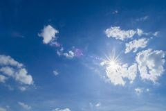 Солнце на дневном свете Стоковое Изображение RF
