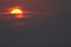 солнце неба Стоковая Фотография