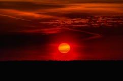 Солнце, небо, облака Стоковое Фото