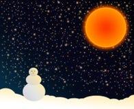 солнце ночи Стоковое фото RF