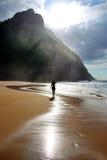 солнце острова стоковое изображение rf