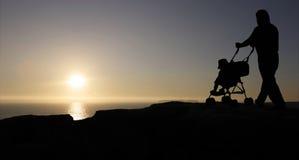 солнце отца Стоковое фото RF