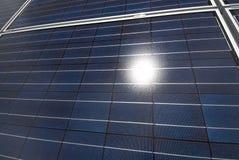 солнце панели солнечное Стоковая Фотография RF