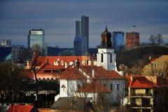 солнце панорамы игр города Стоковое фото RF