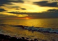солнце подъема Стоковое фото RF