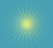 Солнце полутонового изображения вектора Стоковая Фотография