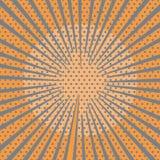 солнце предпосылки Стоковое Изображение