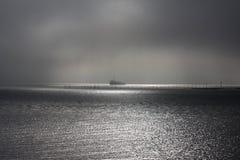 солнце рыболовства Стоковые Изображения RF