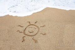 солнце стороны сь Стоковая Фотография RF