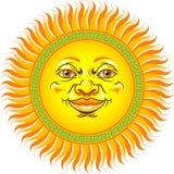 солнце стороны иллюстрация вектора