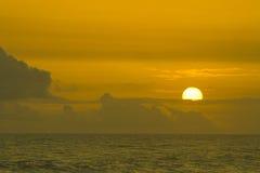 солнце сумрака Стоковая Фотография