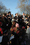 солнце Украина odessa благословением стоковое фото rf