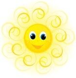 солнце усмешки Стоковые Изображения