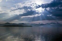 солнце утра Стоковая Фотография