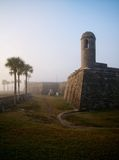 солнце утра mantanzas форта стоковое изображение rf