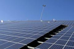 солнце фермы энергии Стоковое Фото
