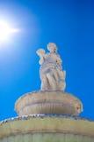 солнце фонтана Стоковая Фотография