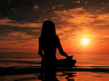 солнце хваления Стоковое Фото