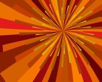 солнце хлебоуборки Стоковое Изображение