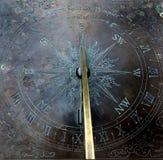 солнце часового циферблата Стоковое фото RF