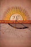 солнце часов Стоковая Фотография