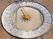 солнце часов Стоковые Фото