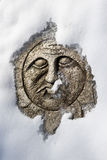 солнце шагая камня стороны Стоковые Фотографии RF