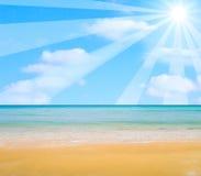 солнце шаржа Стоковые Изображения RF