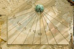 солнце шкалы Стоковое Фото