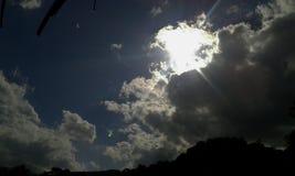 Солнце Шри-Ланка вечера kalpa Стоковое Изображение