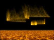 солнце шторма Стоковое Изображение RF
