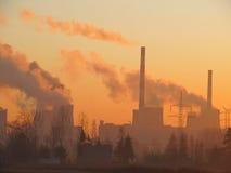 солнце энергии углерода Стоковая Фотография RF