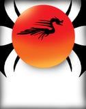 солнце дракона Стоковое Изображение