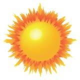 солнце Стоковые Изображения