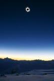 солнце 2006 eclips полное Стоковая Фотография RF