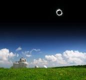 солнце 2008 затмений Стоковые Фото