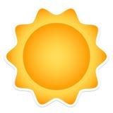 солнце Стоковые Фотографии RF
