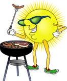 солнце bbq Стоковое Изображение